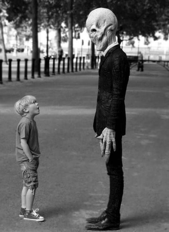 Alien and Children