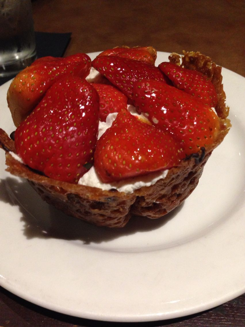 strawberry tart from cafe eccell tasty pinterest chocolate