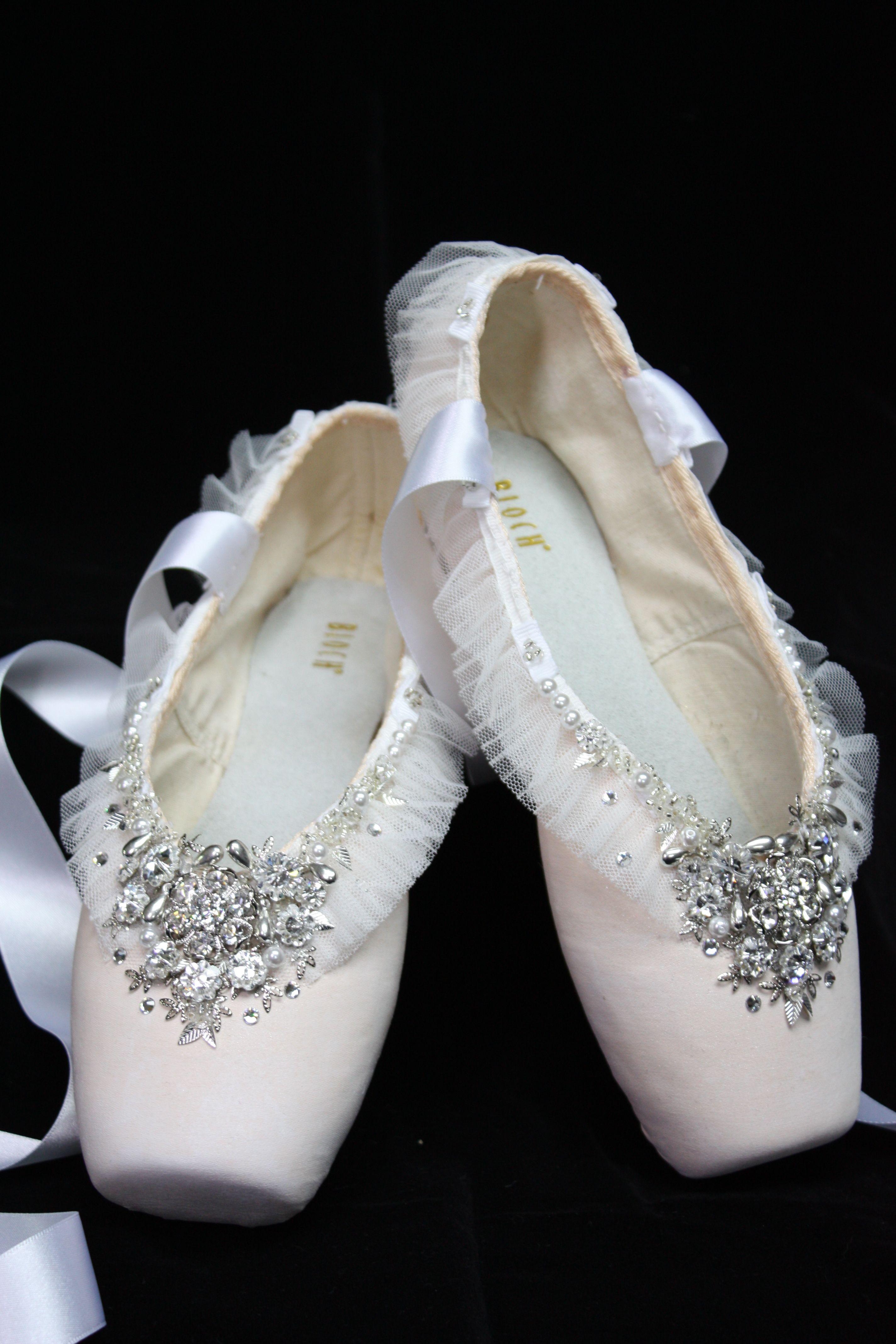 8dfeca121e Perfect wedding shoes for dancers Pointe Shoes