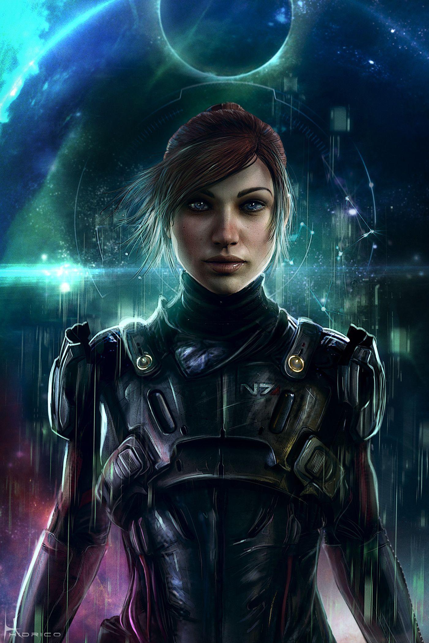 Sara Ryder Mass Effect Andromeda Hidrico Rubens Sc Fi Wallpaper Mass Effect Mass Effect Ryder Mass Effect Characters