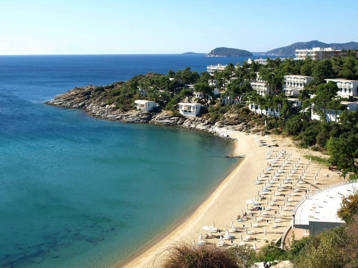 Tosca Beach Kavala Greece