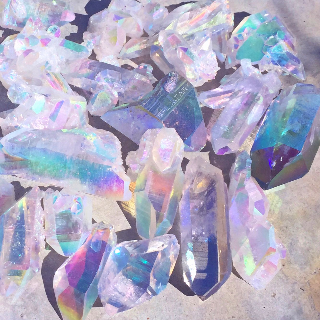 Angel Aura Quartz Crystals Flow Fairy Tumblr Com