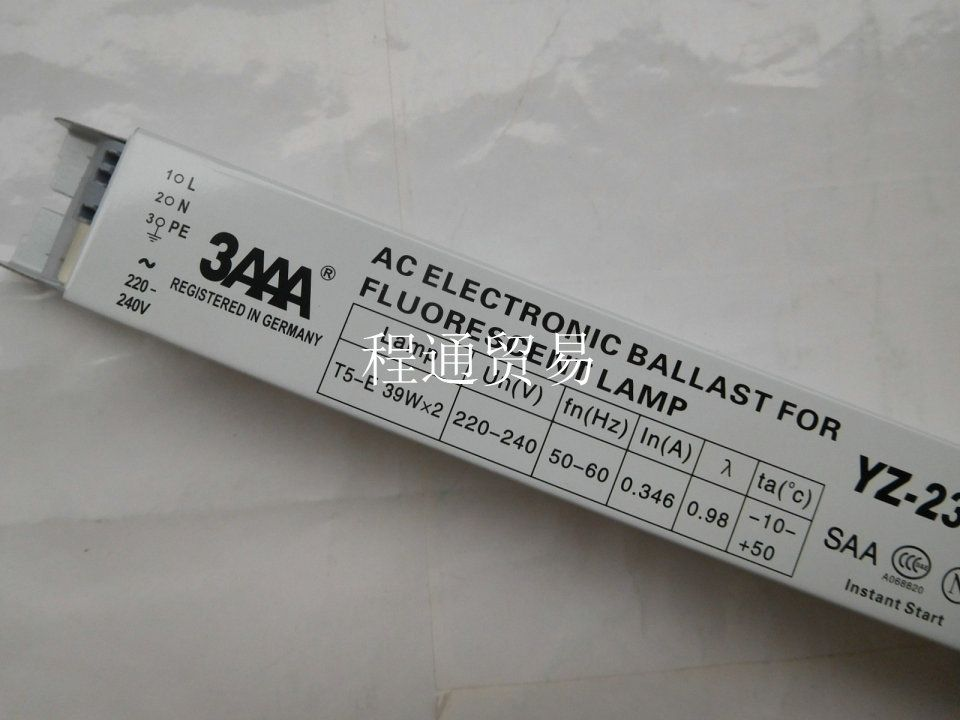 3aaa Yz 239eaa T5 E 220 240v 2x39w Fluorescent Lamp Ac Electronic Ballasts Instant Start Fluorescent Lamp Lamp Ballast