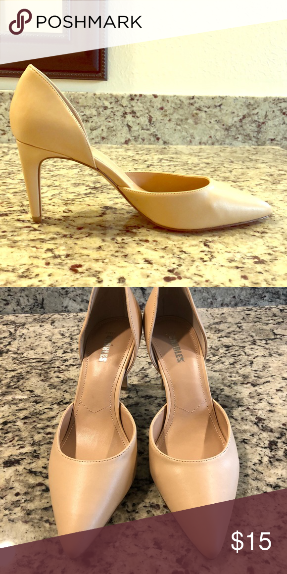 d43d82e37c Nude Pumps Nude Pumps Purchased from Nordstrom Rack, gently loved! Charles  Style Shoes Heels