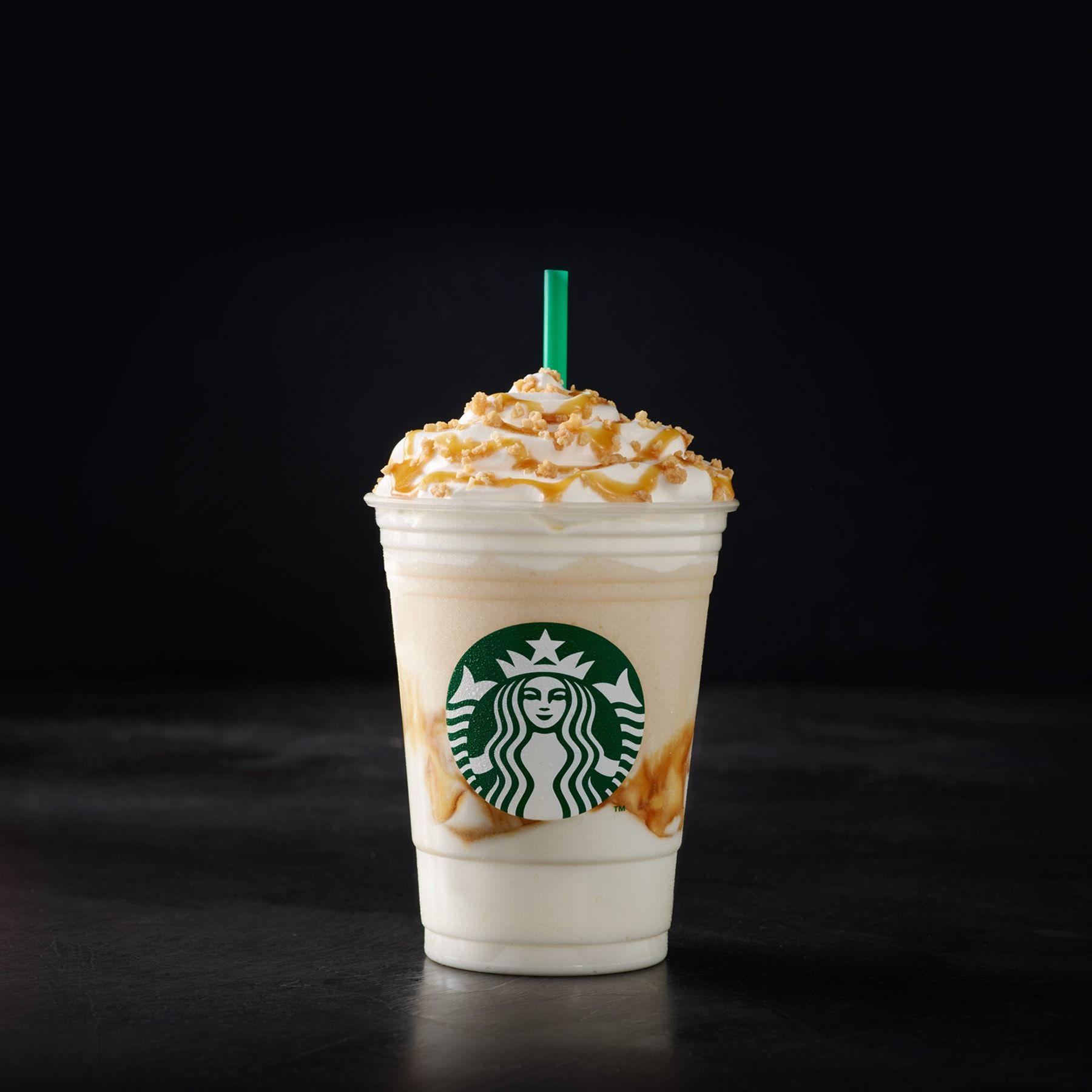 Caramel Ribbon Crunch Creme Frappuccino Starbucks Coffee Company Frappuccino Starbucks Drinks Starbucks Frappuccino
