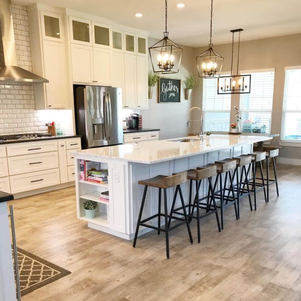 Our Adura Dockside Floor Color Sea Shell Gives This Chic Waco