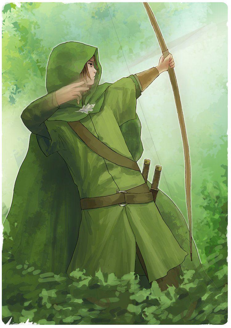 Ranger's Apprentice C: Will Treaty, Longbow, Suddenly Appears! In A Blink Of