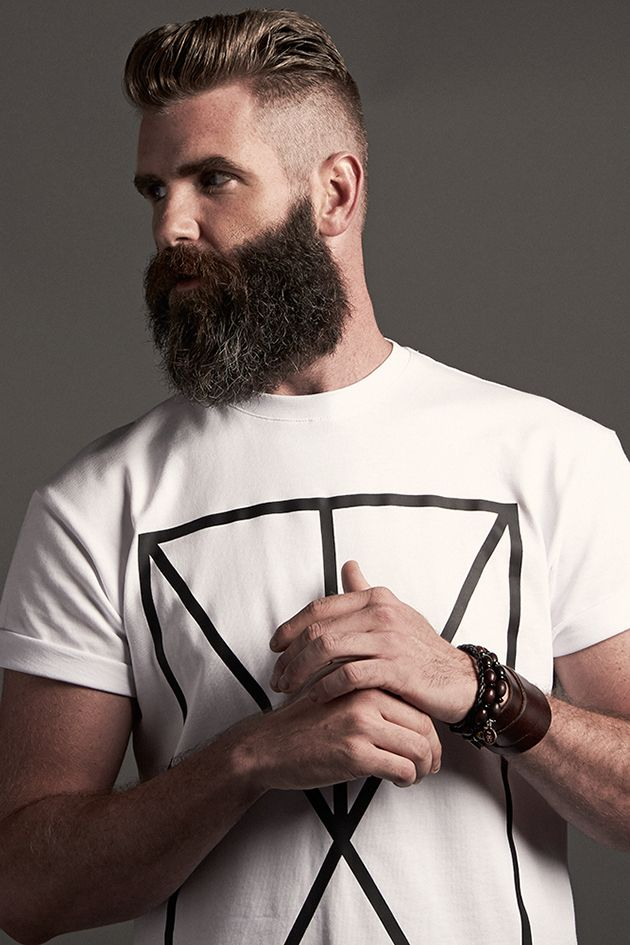Phenomenal Very Classic Haircut With The Trending Mountain Man Beard Style Schematic Wiring Diagrams Amerangerunnerswayorg