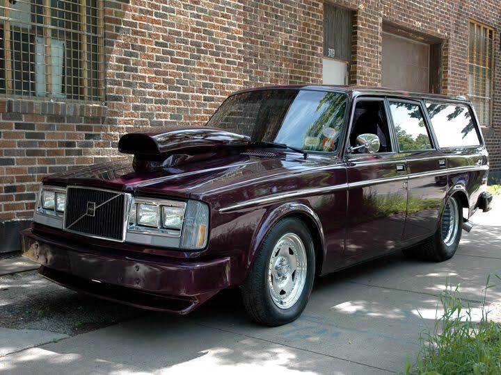 Volvo 240 meets the fast and furious   Cars of the USA   Pinterest
