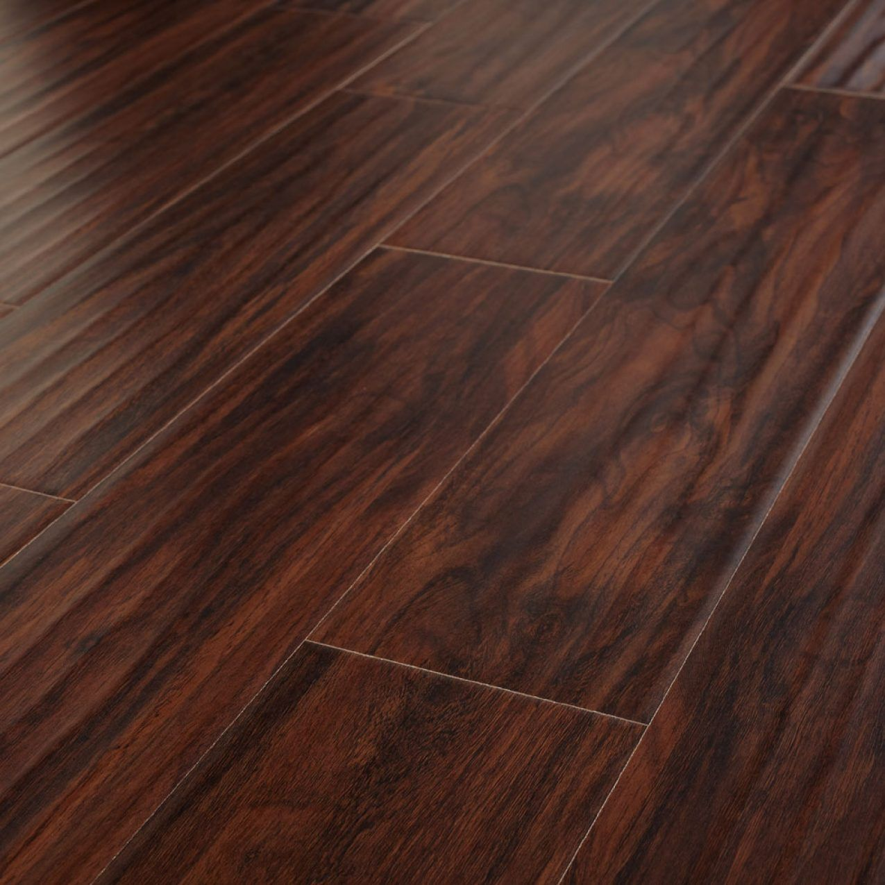 Hank Hand Scraped Hickory Flooring from Evoke. This is the nicest fake  flooring I'