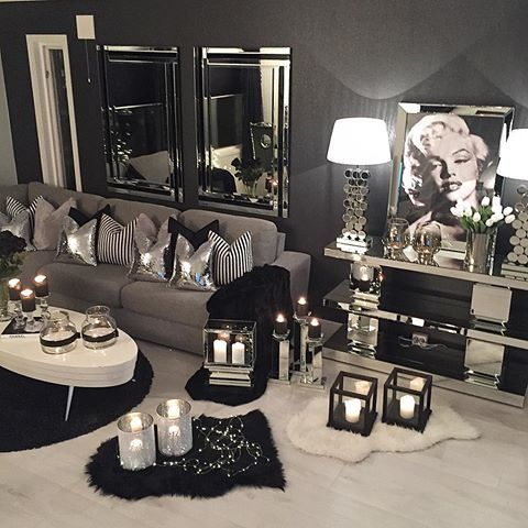 Follow Katrinelunde83 On I G Silver Living Room Silver