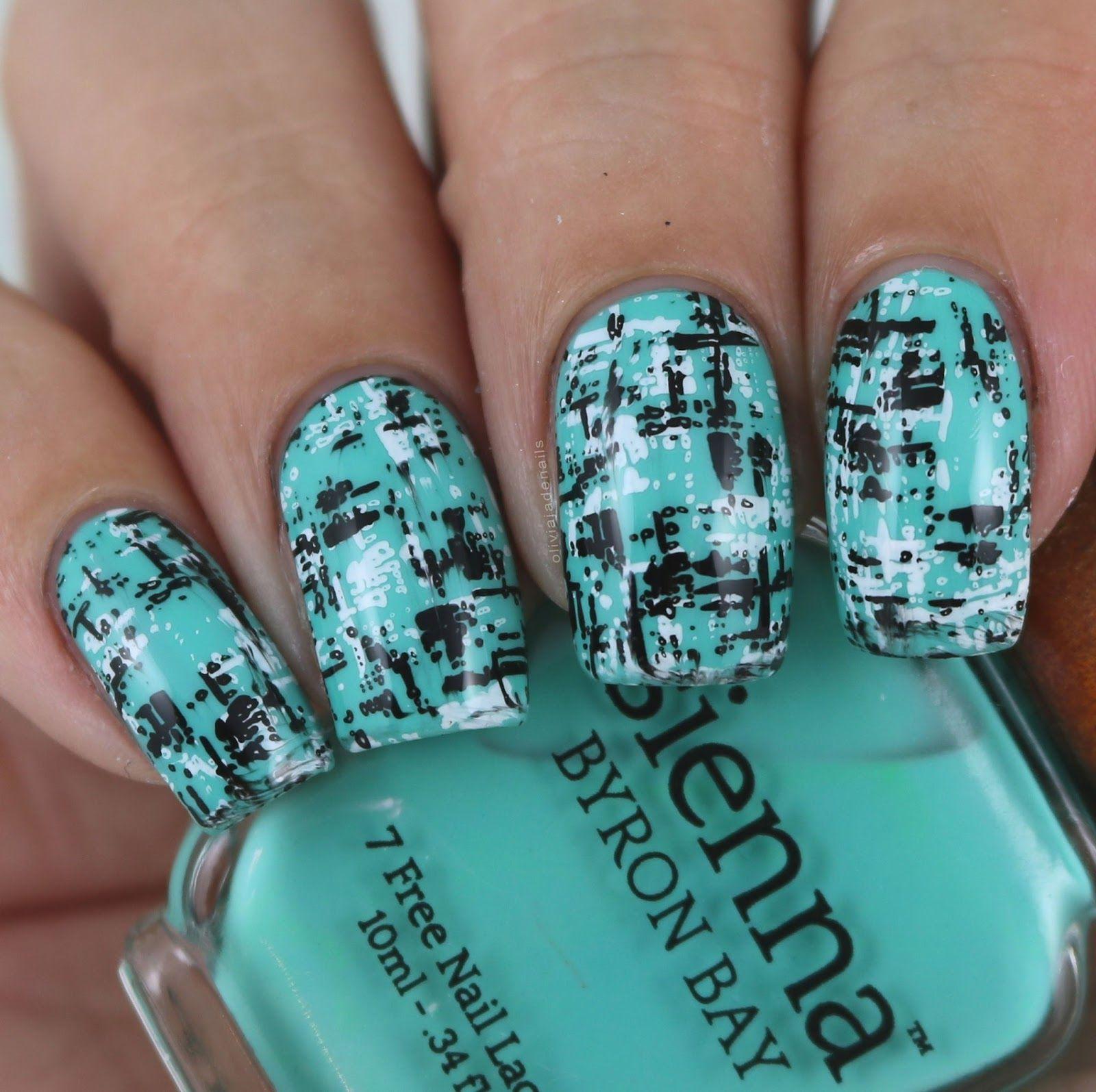 Olivia Jade Nails: Uberchic Beauty Texture-licious Mini Stamping ...