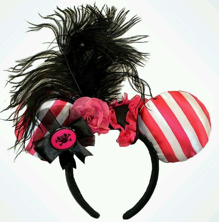 *NEW* Disney Parks RAINBOW Minnie Mouse Ears Headband with Tags