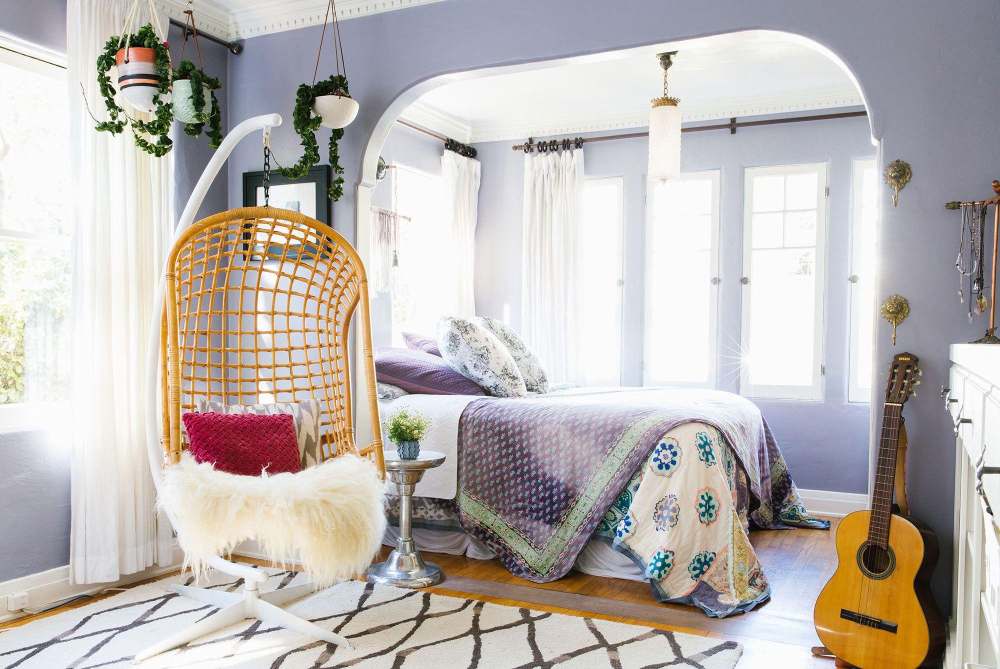 Lavender lair corner garden hanging chair and corner