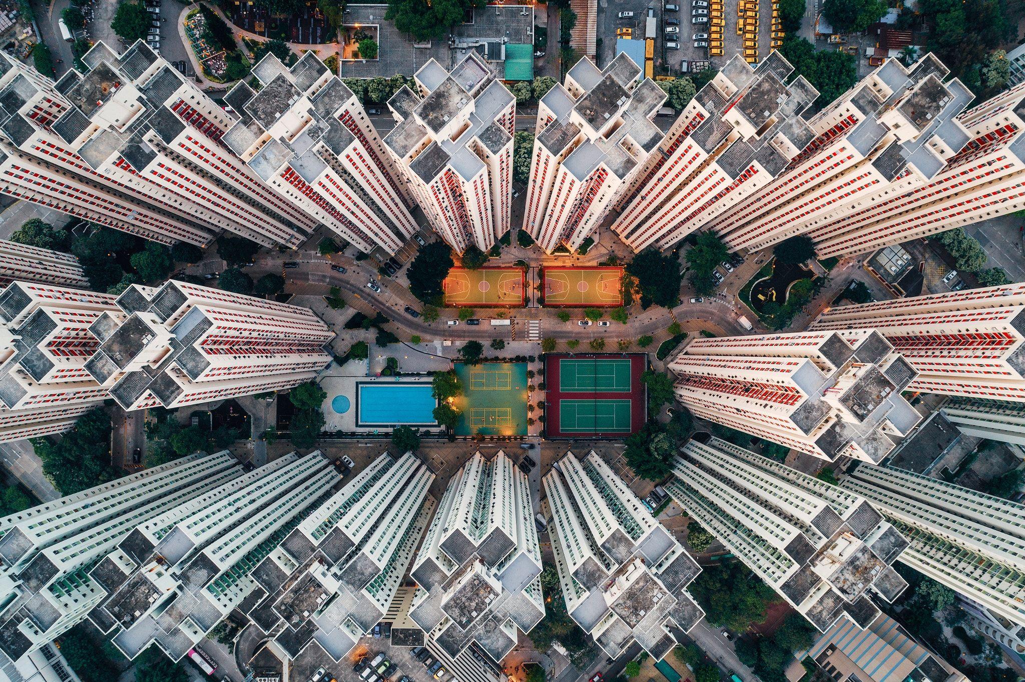 Walled City Kowloon Bay Hong Kong Follow Me On A Href - Incredible drone footage captures hong kong