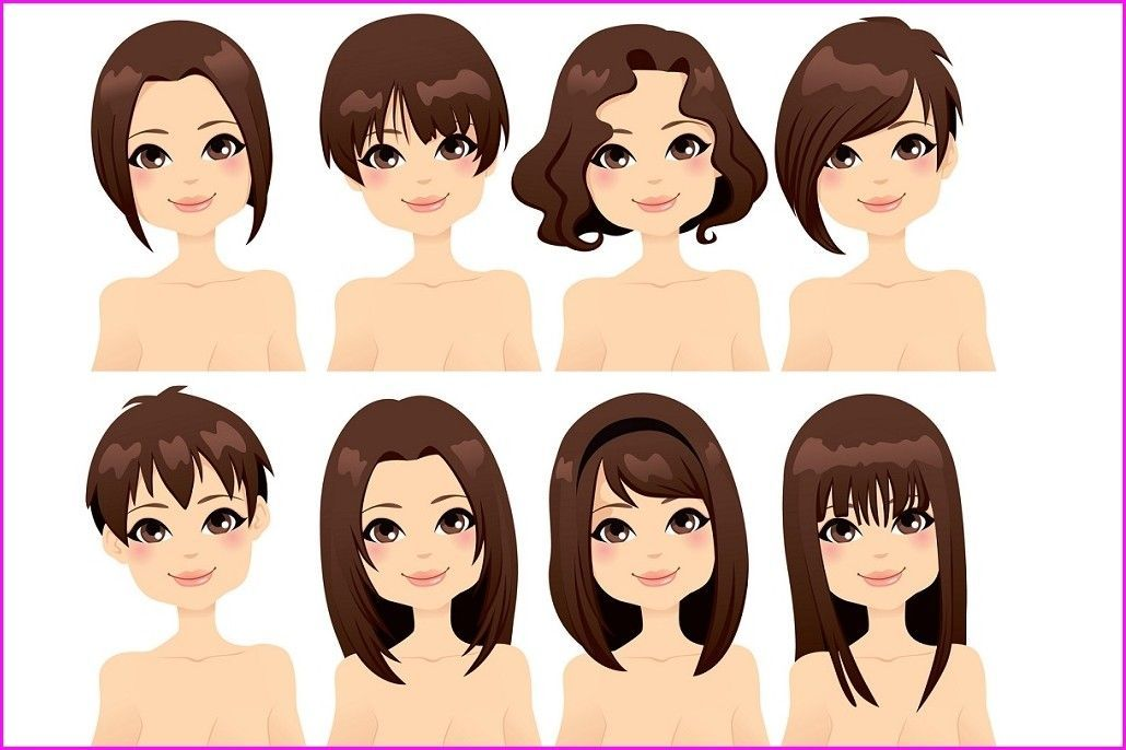 Matching Hairstyles For Your Face Shape Face Shape Hairstyles