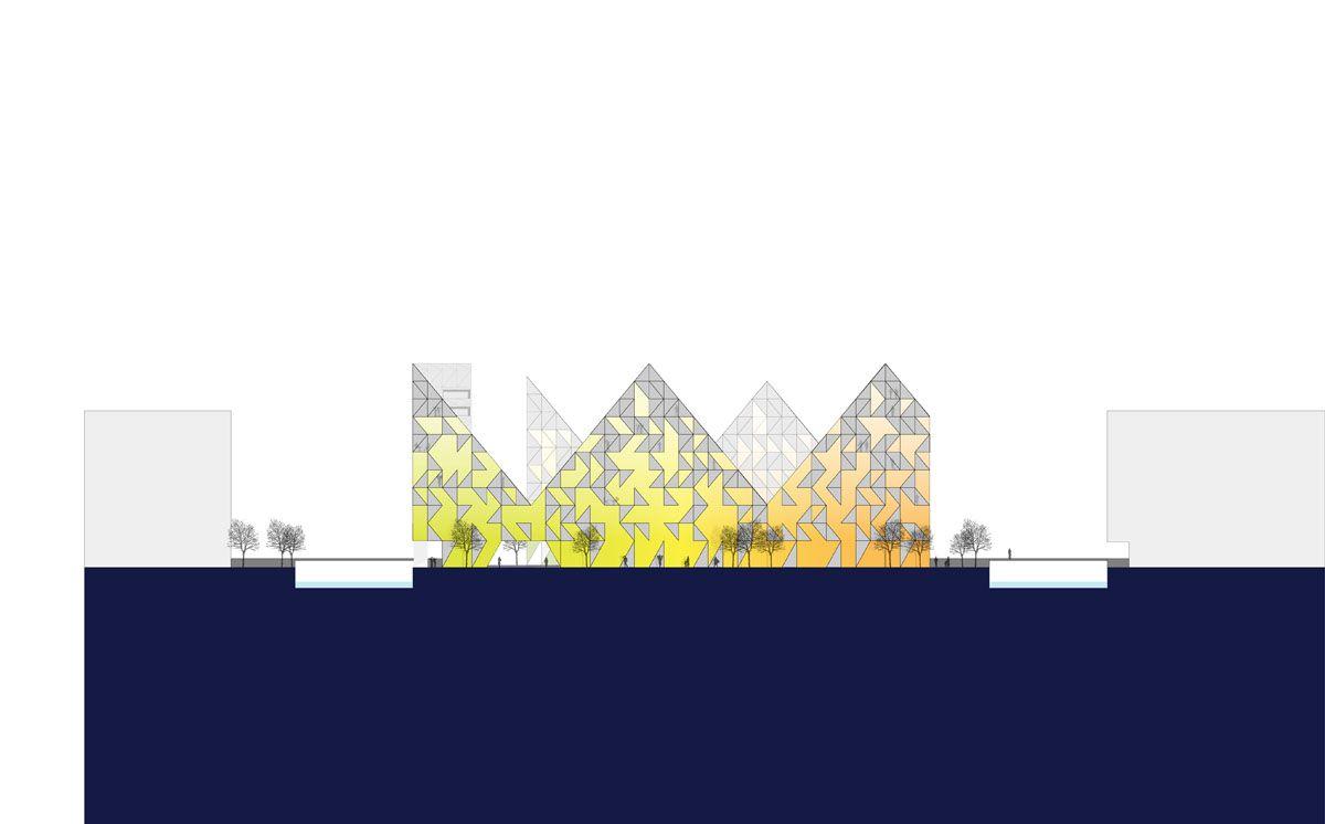 Isbjerget Aarhus : Iceberg – New Danish Housing