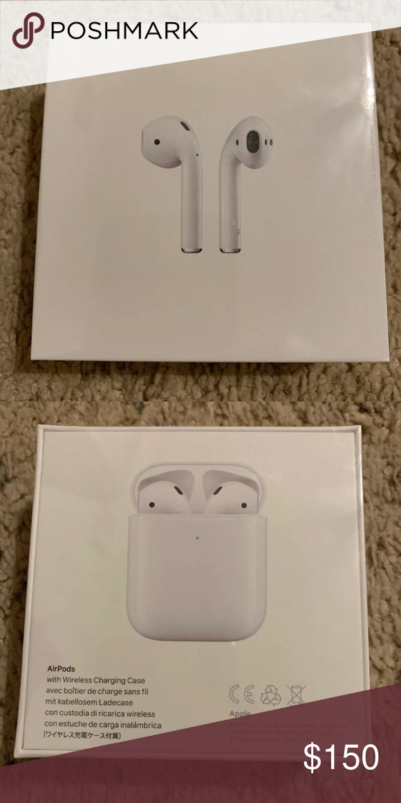 Apple Airpods 2nd Gen New In Box Accessories Apple Airpods 2