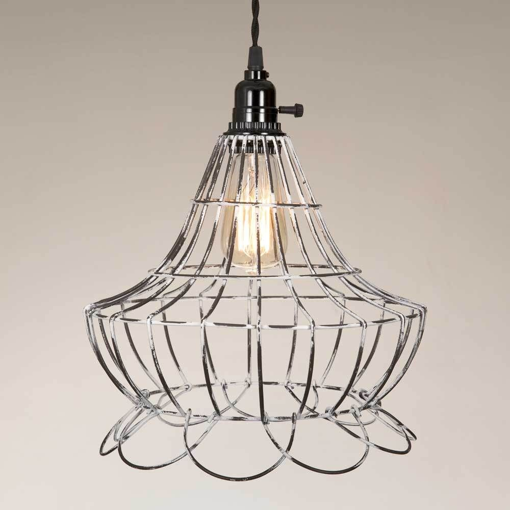 Wire Scallop Bell Pendant Lamp | Pendants and Products