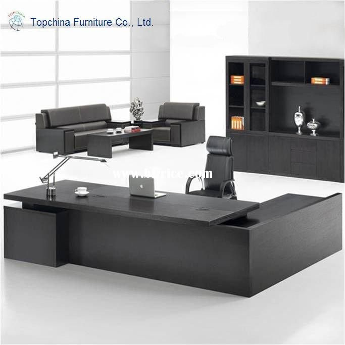 knock modular modern design wooden executive office desk home table writing
