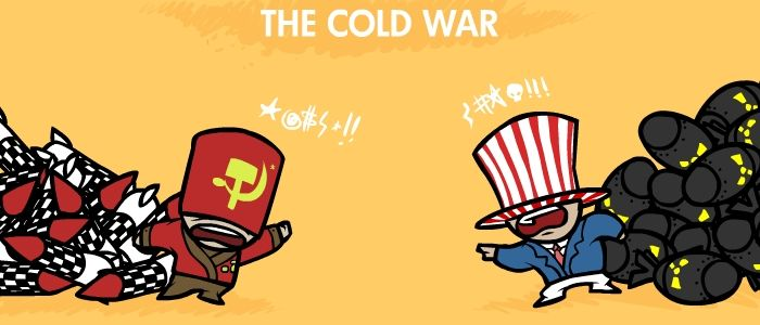 brief history of cold war A brief montage of some important television clips from the cold war era including: -bombing of hiroshima -duck and cover civil defense ad -cuban missile.