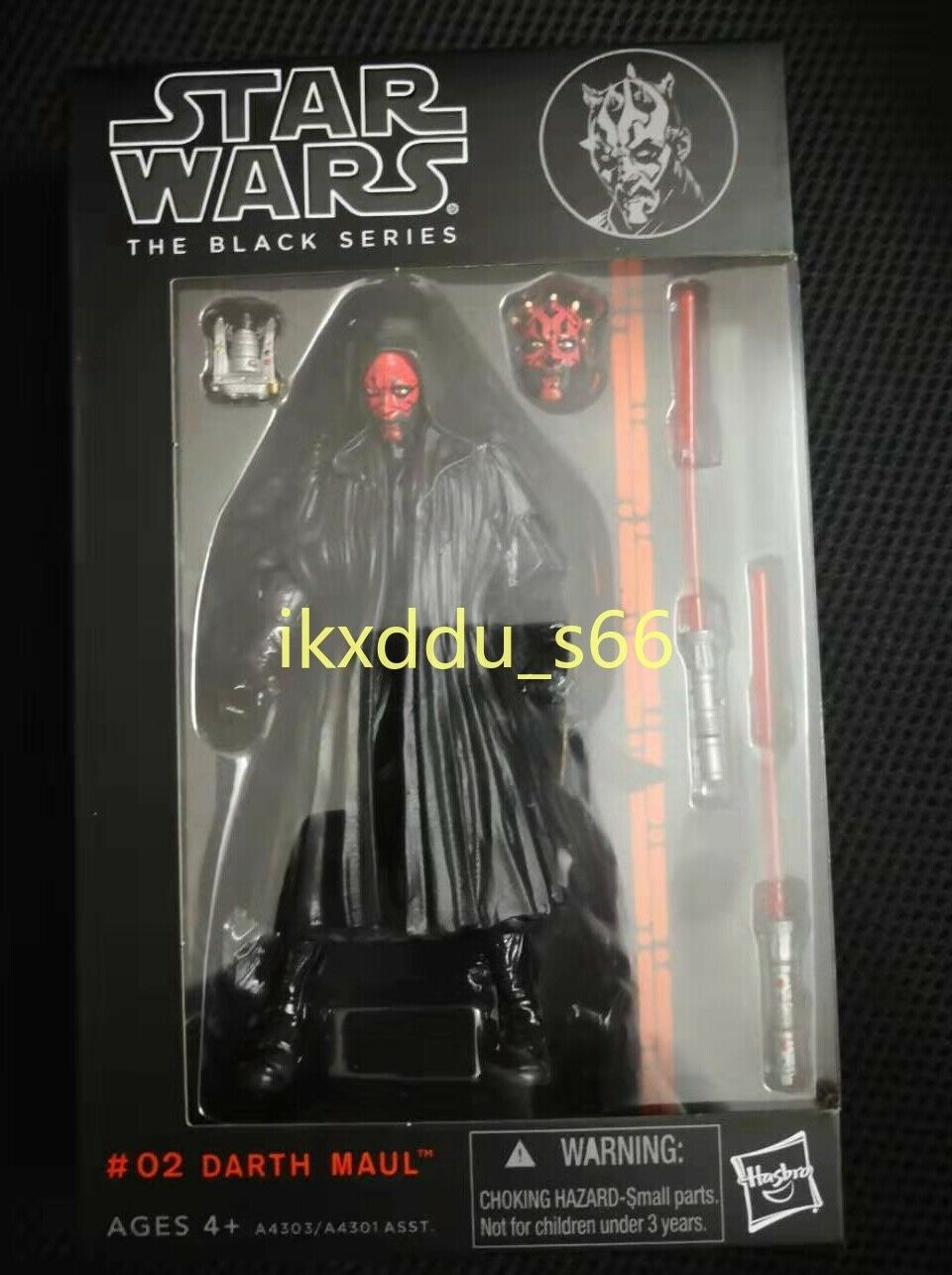 """New Darth Maul Star Wars the Black Series 6/""""Action Figure Gift With Box"""