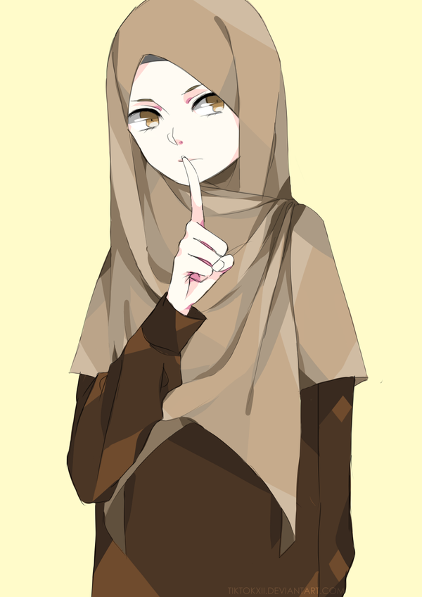 a random illustration that I altered by putting on hijab