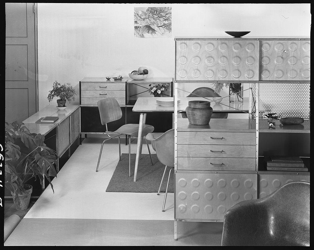 Eames Storage Unit, Herman Miller Showroom