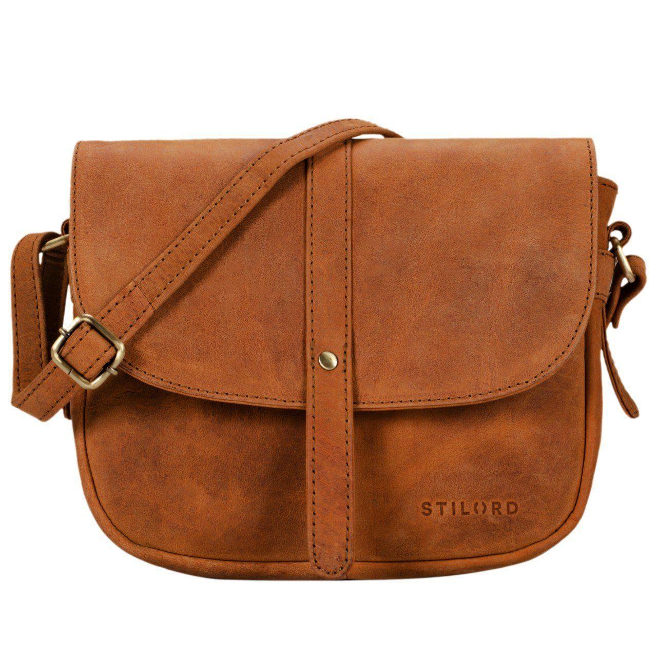 ea4e6d0e4e STILORD 'Kira' Sac à main cuir pour femme sac à bandoulière vintage petit  sac