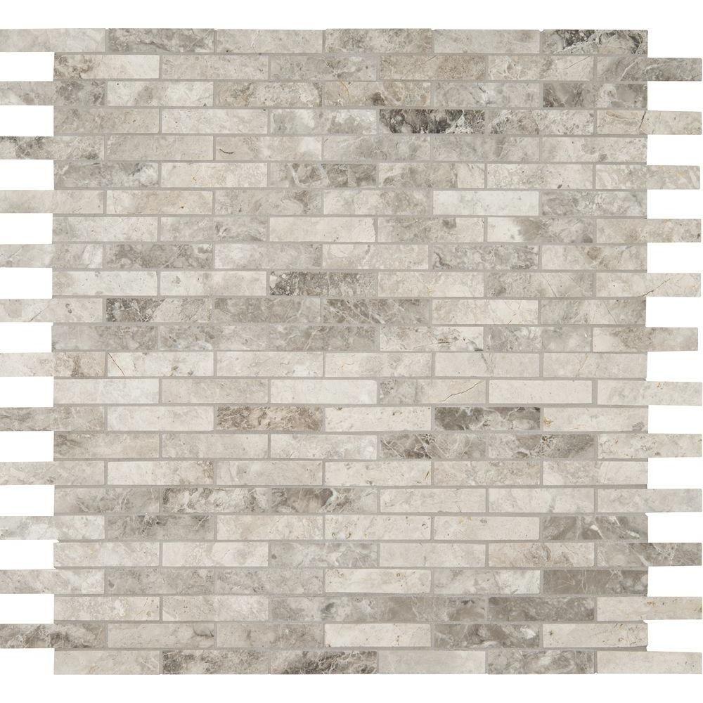 Interlocking Kitchen Floor Tiles Ms International Tundra Gray Interlocking 12 In X 12 In X 10 Mm