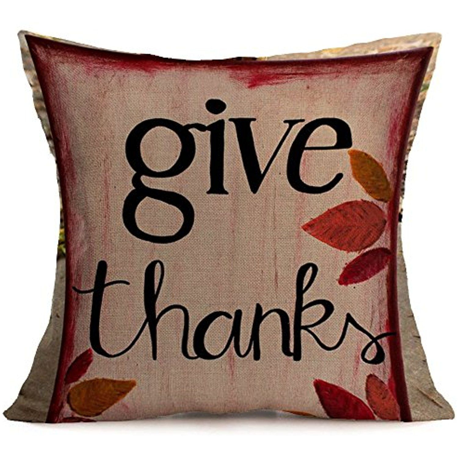 Bless pillow covers autumn thanksgiving christmas decorations