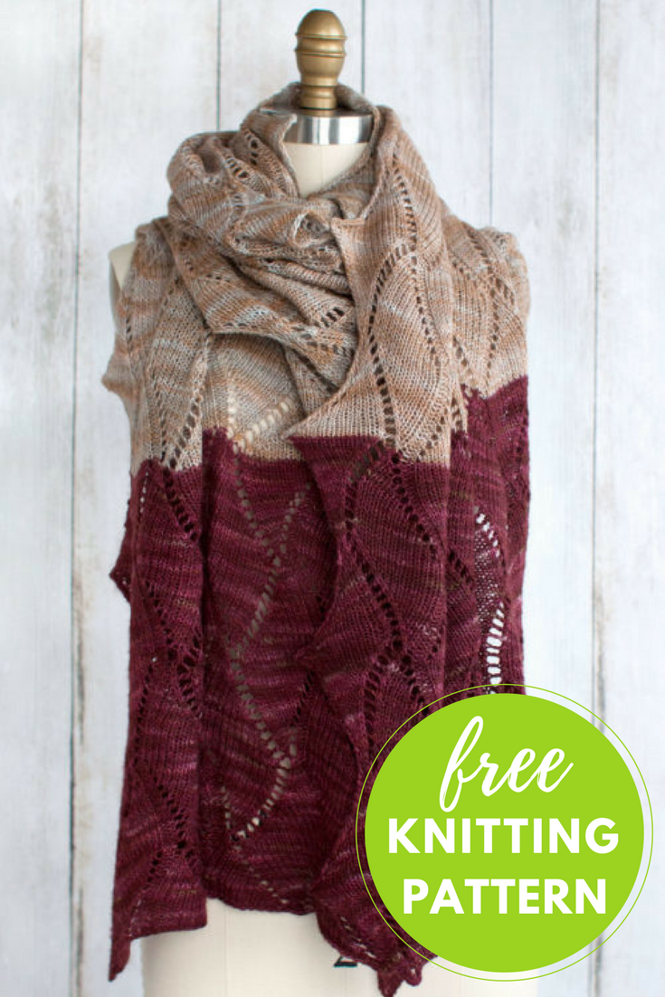 Seesaw Wrap Free Knitting Pattern | Seesaw, Knitting patterns and ...