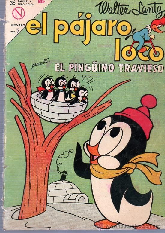 El pingüino travieso