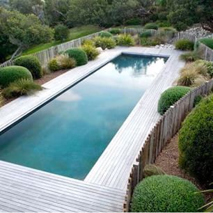 Love this Australian coastal #pool and #landscape by Fiona Brockhoff Design