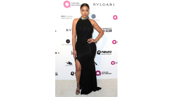 La La Anthony This Alexandre Vauthier gown is stunning, but it's La La's curves that really make it pop at Elton John's 24th annual AIDS Foundation Oscar Viewing Party.