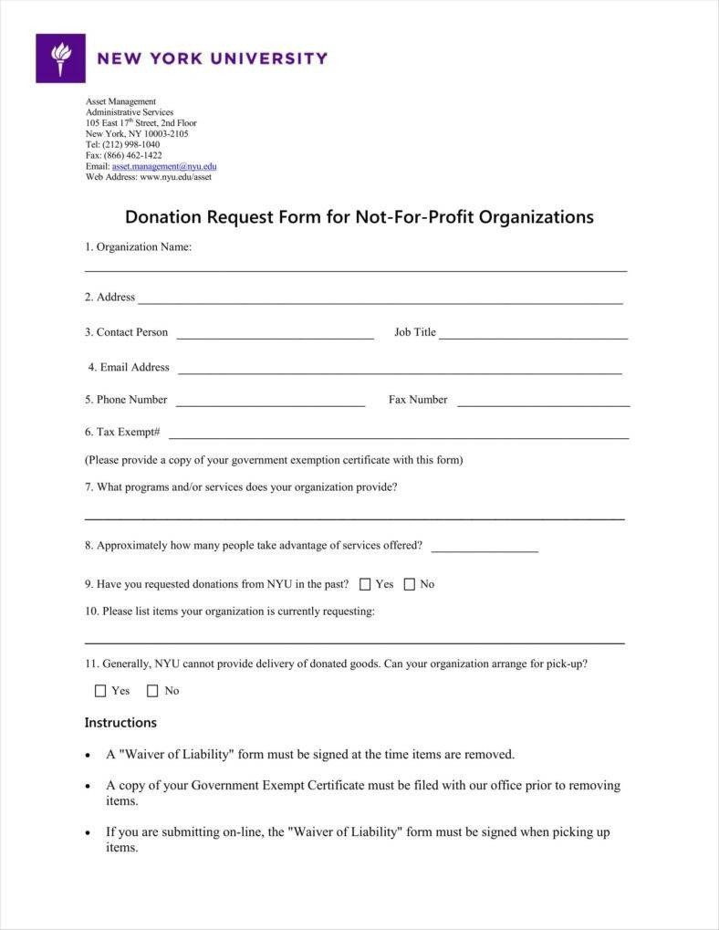 Donation Request Form Template Lovely 9 Donation Application Form Templates Free Pdf Format Donation Request Form Sponsorship Form Template Card Templates Free