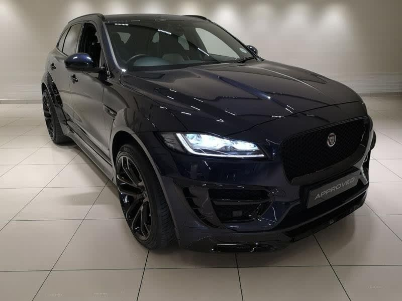 Used Jaguar F Pace 2017 F Pace 3 0d Lumma Clr Rs For Sale In