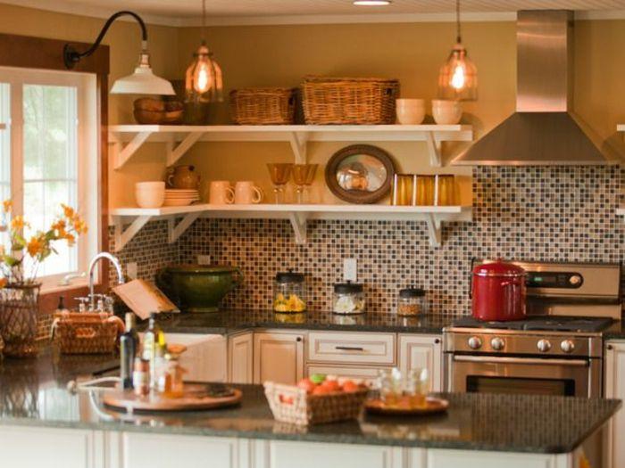 17 Küchenspiegel Ideen für mehr Komfort und Wohnlichkeit - ideen für küchenspiegel