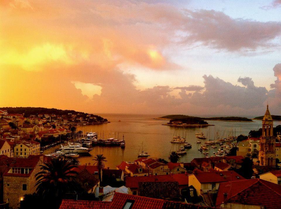 Hvar Island Sunrise and Sailboats Travel, Europe, Croatia @bestworldyet