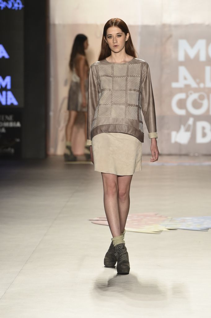 COLOMBIAMODA 2015 | DÍA 1 | NON STOP: ANDREA LANDA SS16 #PV16 | The Glambition #leather