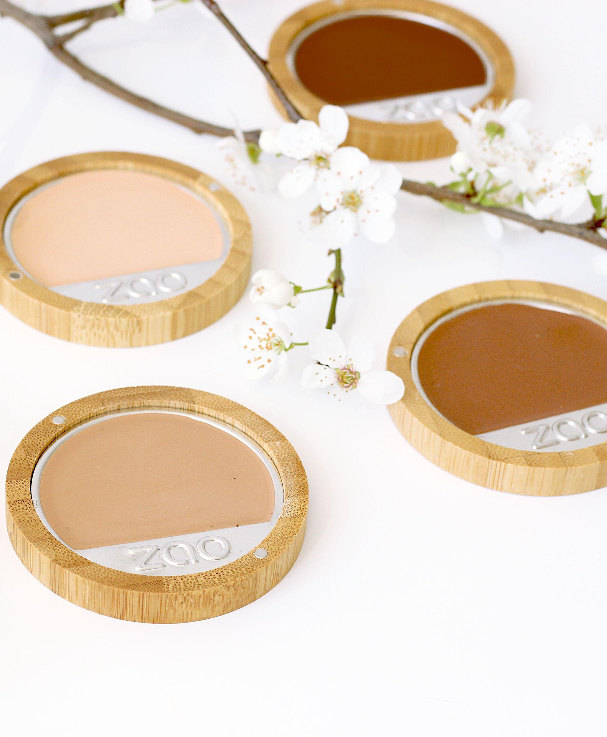 Zao Cream Foundation will provide your complexion a full
