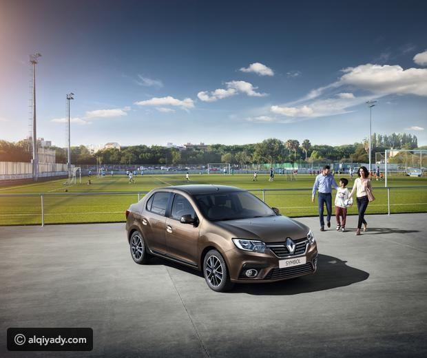 بالصور رينو سيمبول الجديدة موقع القيادي Sedan Cars Car Sedan