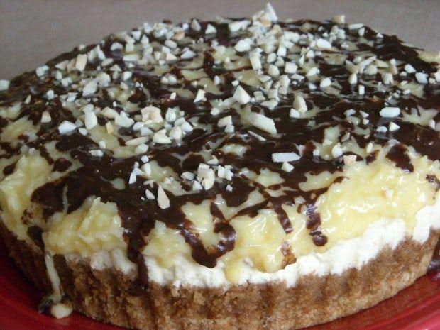 German Chocolate Cheesecake #germanchocolatecheesecake
