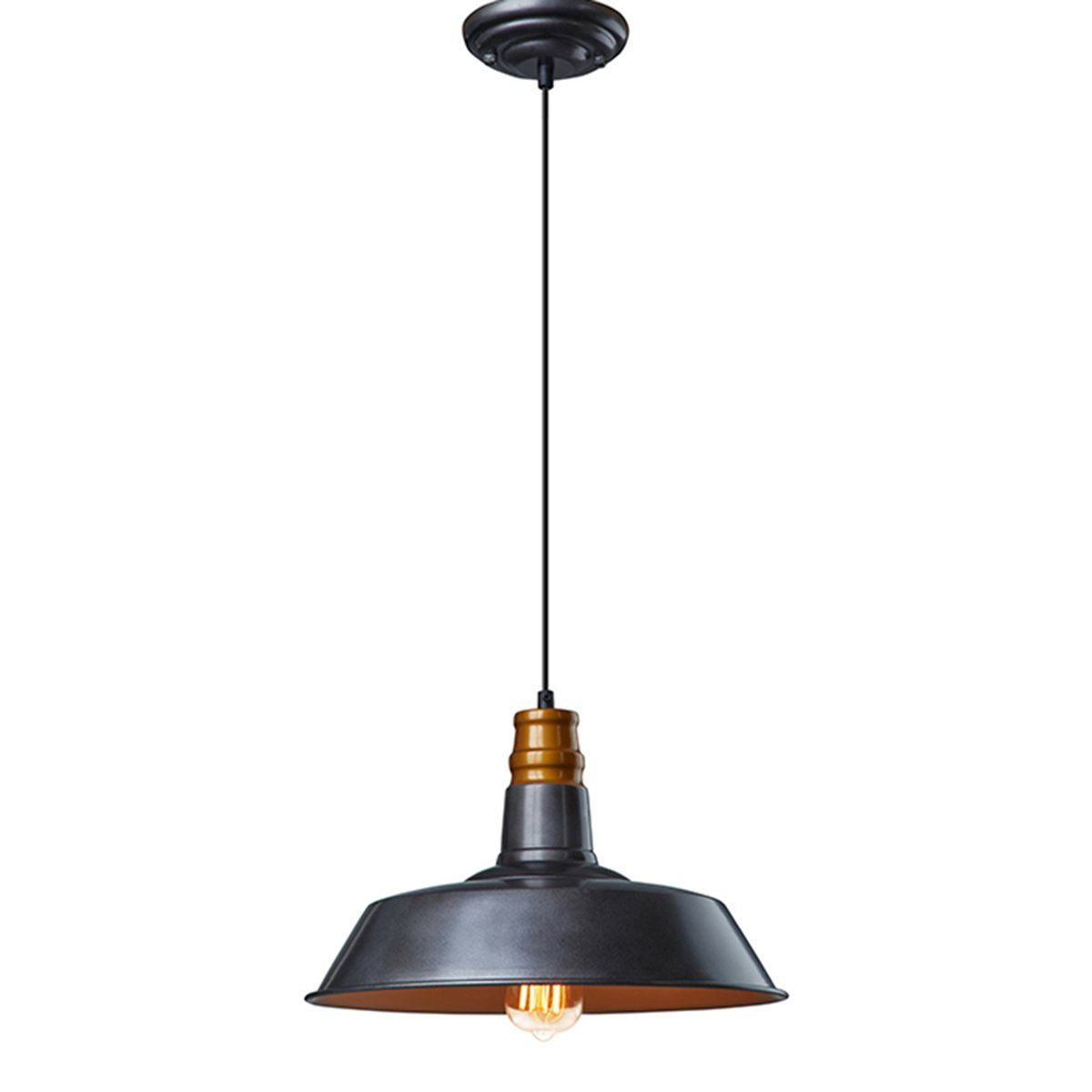 Ecopower industrial barn mini metal pendant light light lighting