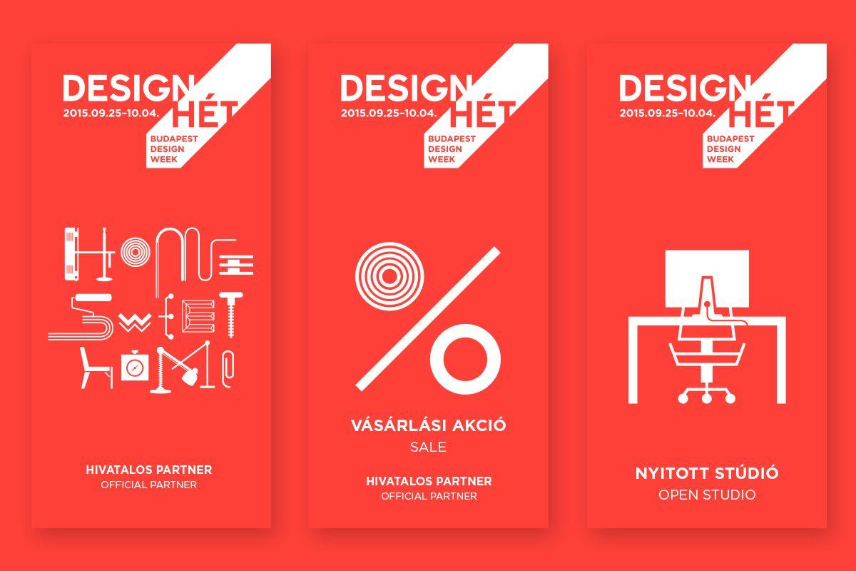Budapest Design Week Map 2015 On Behance Design Graph Design Branding Design