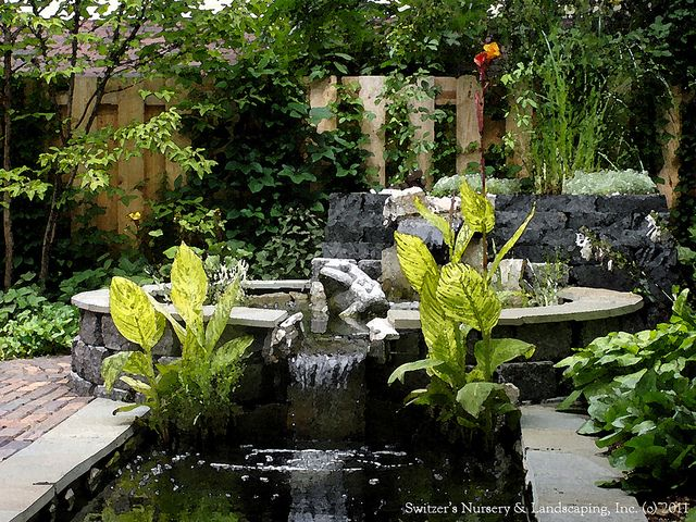 the ART of Landscape Design Balinese Inspired Water Garden