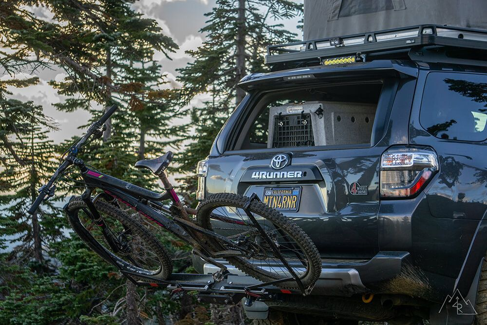 1up Usa Quik Rack Bicycle Rack Review On Toyota 4runner Suv Toyota 4runner 4runner Bicycle Rack