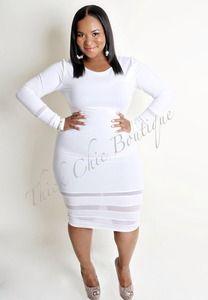 9d2e7328aa10 All white affair | white party | Fashion, Curvy outfits, Dresses