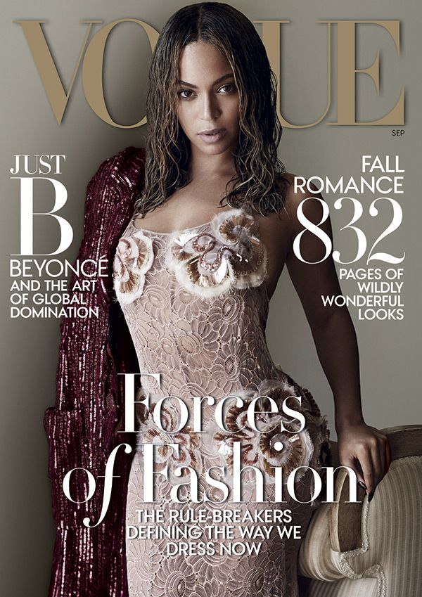 'Vogue' has just released their September cover with the one and only Beyoncé looking absolutely flawless sporting a high-fashion beauty look. Get the details on her wet hair and no makeup look and let us know if you'd ever try it out!