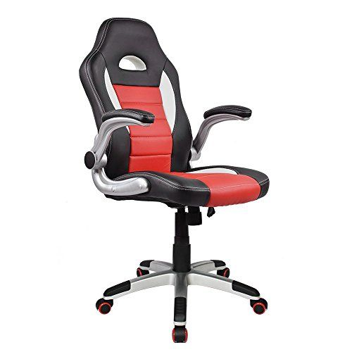 Homall Ergonomic Racing Chair High Back Gaming Chair Pu Leather Bucket Seat Computer Swivel Lum Best Ergonomic Office Chair Ergonomic Office Chair Office Chair